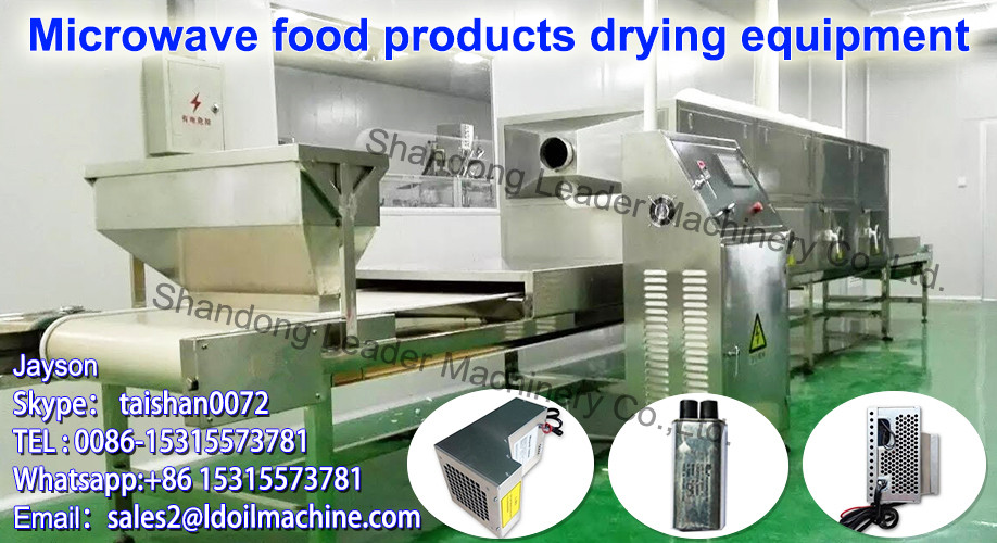 China suppliers industrial microwave drying machine for thyme