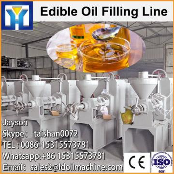 Sunflower oil extraction machine with oil refining refinery