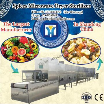 Continuous Spices Microwave LD Sterilizer microwave drying and sterilizing machinery for ginger powder