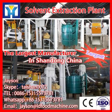 From raw materials oil processing plant