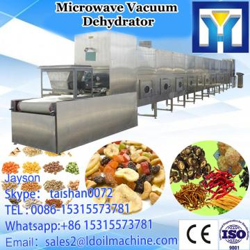Continuous microwave grain LD&sterilizer with feeding hopper