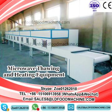 Microwave Thawing and Heating Prawns Equipment