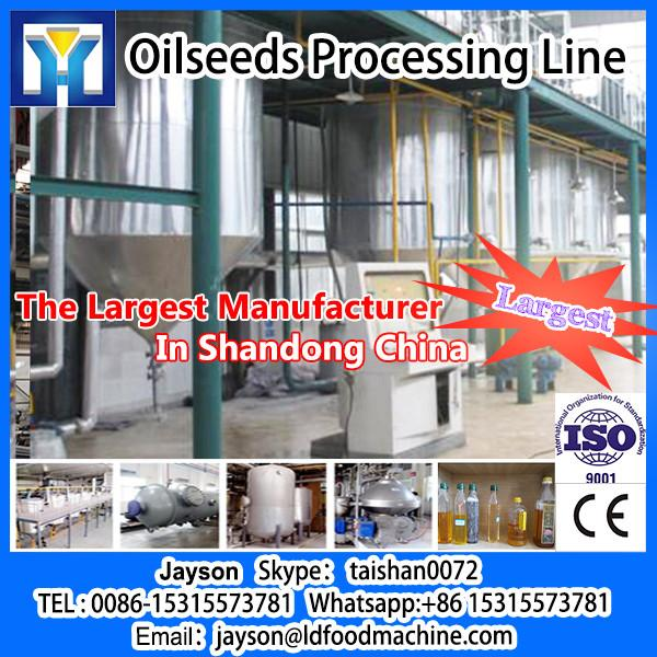 2013 New Design High Oil Yield Olive Oil Press / Oil Machinery #1 image