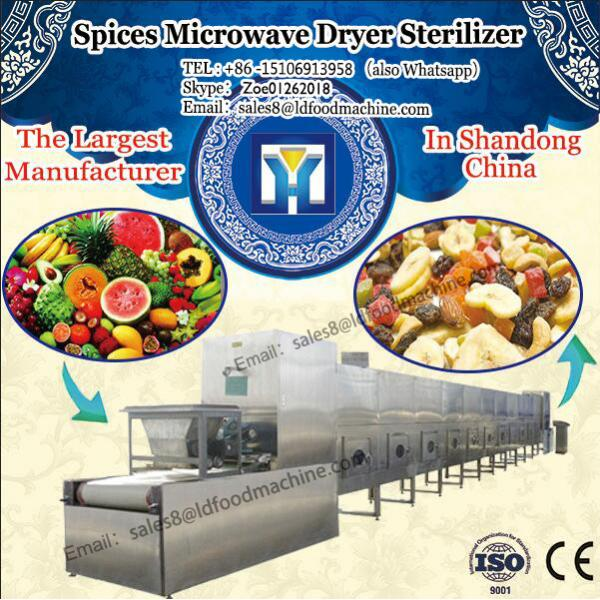 Continuous Spices Microwave LD Sterilizer microwave drying and sterilizing machinery for ginger powder #1 image