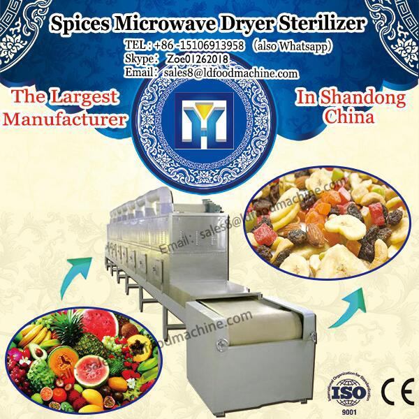 China Spices Microwave LD Sterilizer supplier conveyor belt microwave stoving oven for flavoring #1 image