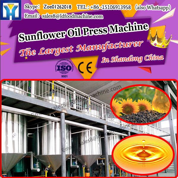 stainless Sunflower Oil Press Machine steel refining tank small crude oil refinery machine #1 image