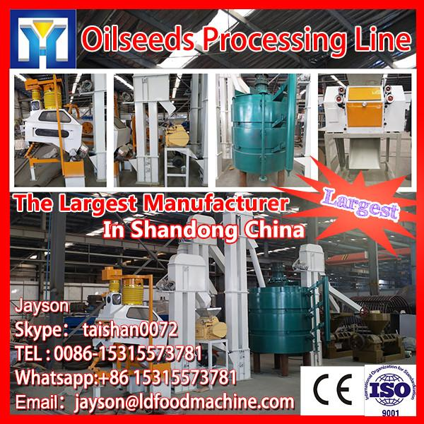 CE certified sunflower oil machine with competitive price, crude sunflower seed oil refining line #1 image