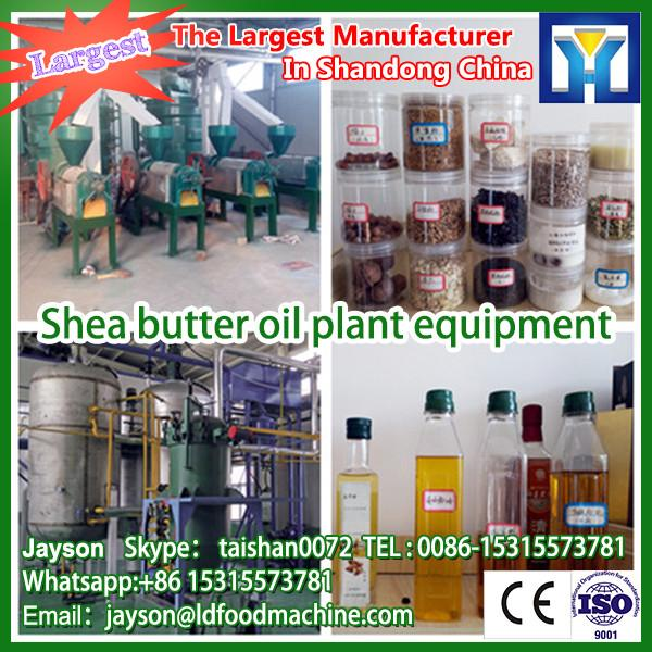 Cooking oil production line crude rice bran oil refining machinery plant with CE #1 image