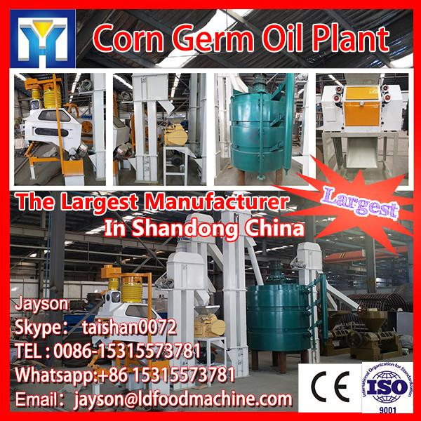 20-50T/D crude vegetable oil rice bran oil refining #1 image