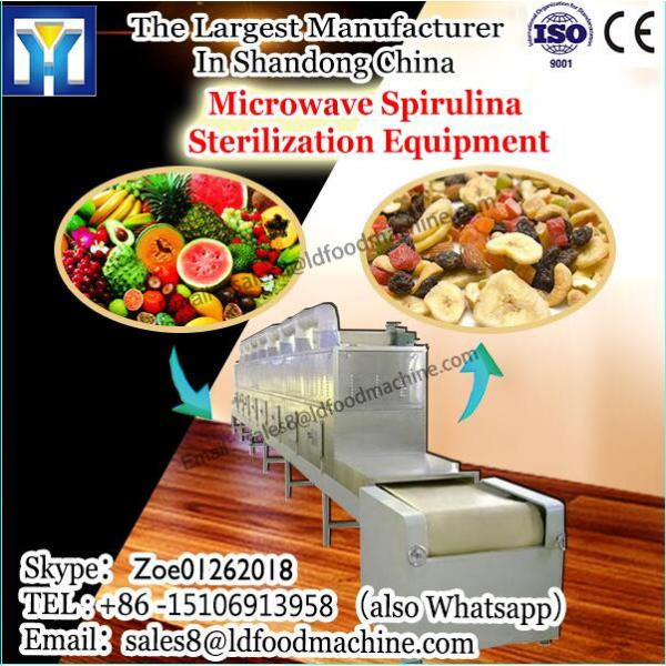 High efficiency of tunnel microwave drying equipment for Chinese sauerkraut #1 image