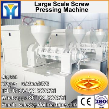 Screw expeller for corn germ oil production