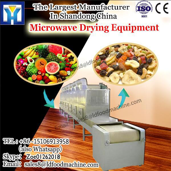 tunnel Microwave Drying Equipment continuous conveyor belt type microwave egg tray LD #1 image